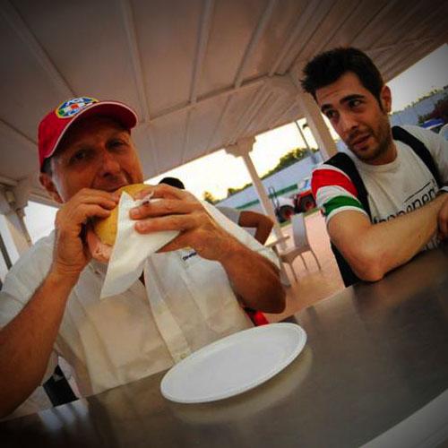 Bar Ristorante Misanino KCE piloti a pranzo