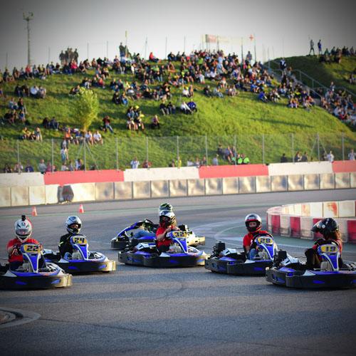 MIsano Circuit gara