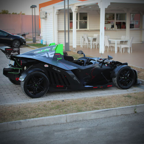 Rimessaggio Go Kart Foto Misanino KCE