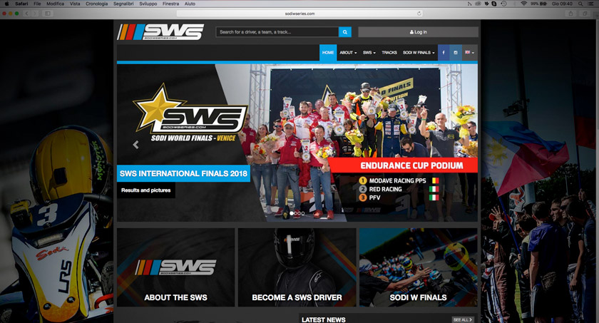sws sodi world series go kart